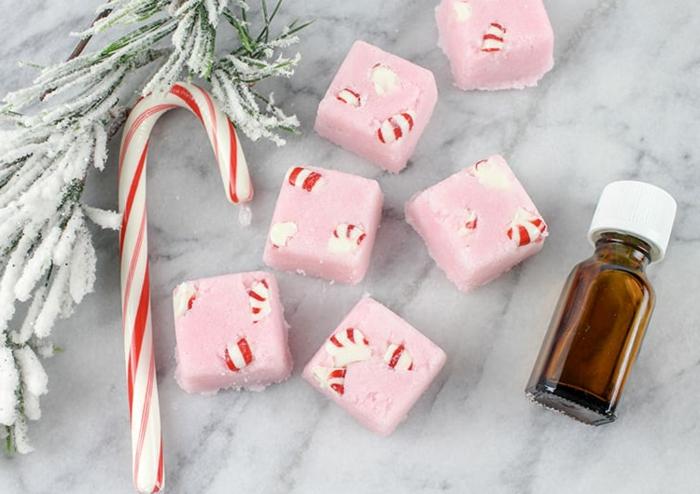 mini bombas de baño para regalar en navidad a tu profesora, regalos profesoras infantil, detalles hechos a mano en fotos