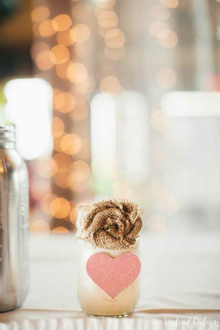 frascos decorativos para regalar a los invitados de la boda, ideas sobre que regalar en una boda, detalles pequeños para regalar