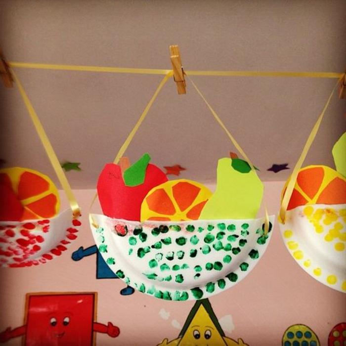 decoración DIY para la cocina, manualidades niños 2 años con materiales reutilizados, manualidades con reciclaje originales