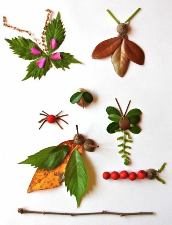 ideas de decoración casera y manualidades con materiales naturales, pequeños detalles para decorar la casa, manualidades niños 2 años