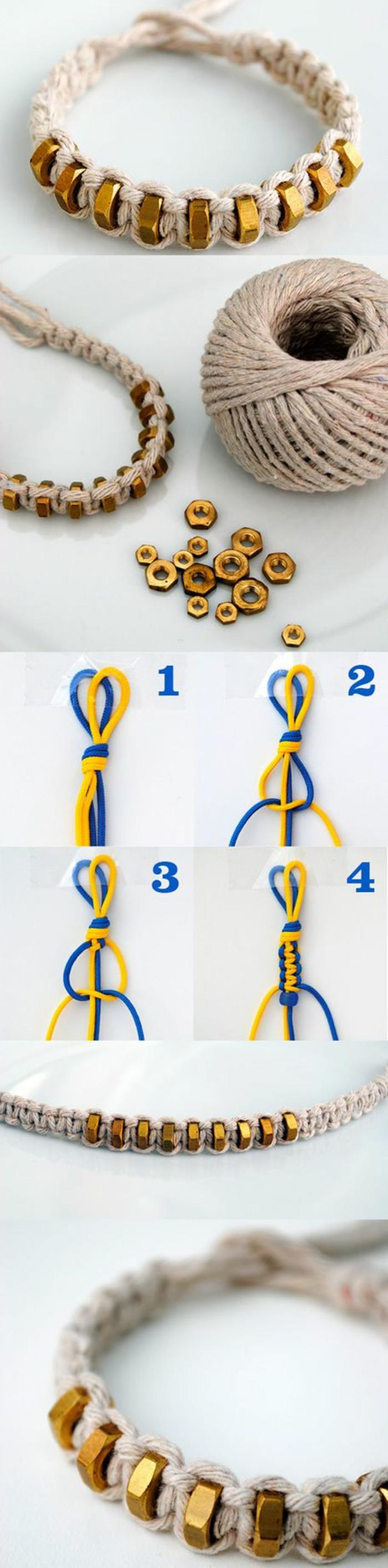 pulseras hechas a mano, diferentes ideas de manualidades para hacer en verano y regalos hechos a mano originales