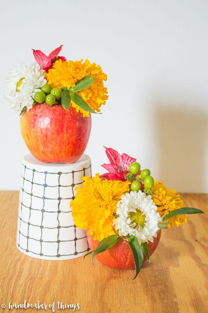 regalos unicos hechos a mano, bonitas ideas sobre que regalar a una profesora, regalos originales con flores DIY