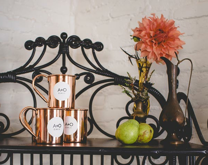tazas de té personalizadas en color cobrizo, ideas de regalos detalles de boda originales y utiles, 90 ideas de favores