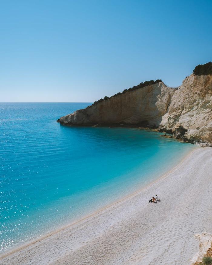 preciosa playa en la orilla del mar, fondos de pantalla gratis, las mejores imagines para tu fondo de pantalla gratis
