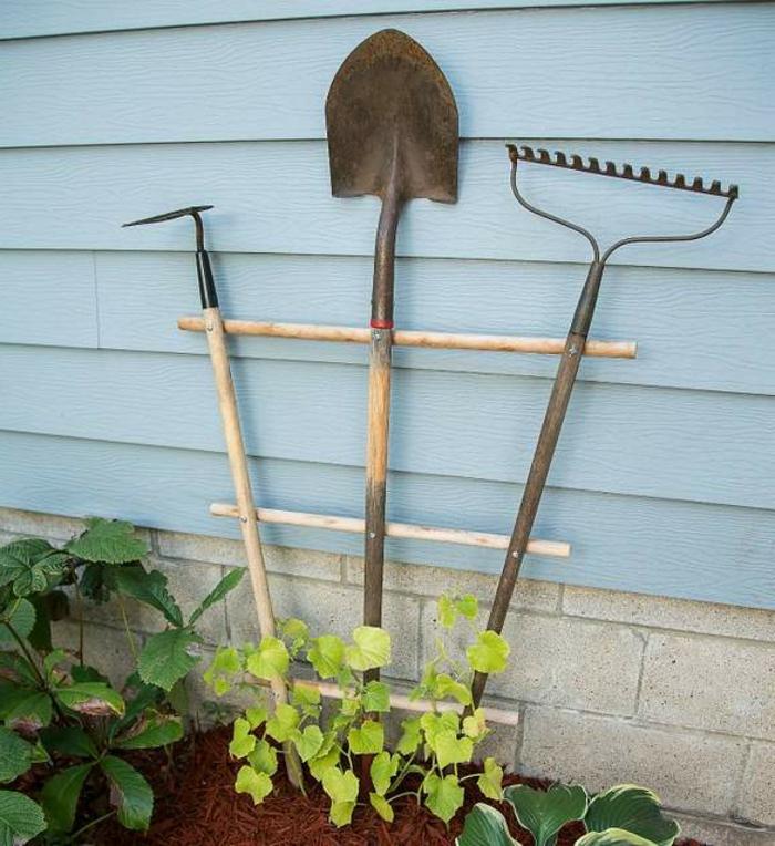 ingeniosas ideas sobre cómo decorar el jardín, diseño de jardines originales, jardines verticales, ideas super divertidas
