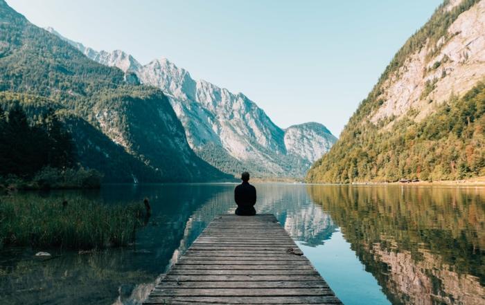 paisajes que inspiran y relajan la mente, fondos de pantalla chulos y originales, fondos de pantalla con montañas y lagos
