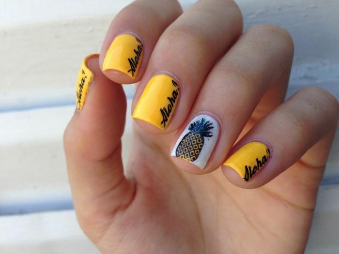 decorados de uñas para el verano, fotos de uñas con dibujos las mejores ideas de manicura que están en tendencia esta temporada