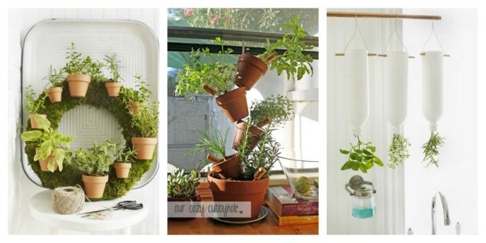 ideas de decoración con plantas para interiores, pequeños jardineros verticales, las mejores propuestas para decorar tu casa con plantas