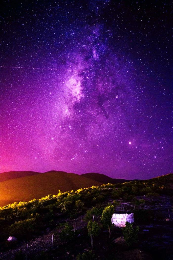 imagenes de paisajes nocturnos, paisajes de naturaleza con cielo estrellado, las fotos más bonitas de paisajes de naturaleza