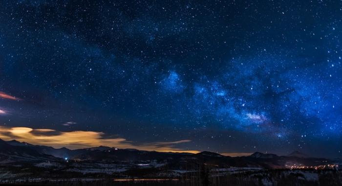 preciosos paisajes con cielo estrellado nublado, las mejores imagines para descargar gratis, fondos de pantalla super originales