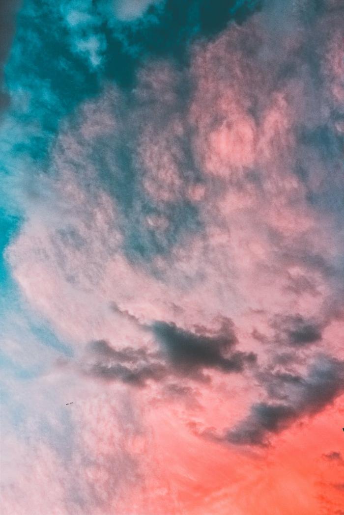 preciosas imagines de la naturaleza, fondos bonitos con nubes en bonitos colores, paisajes de naturaleza originales