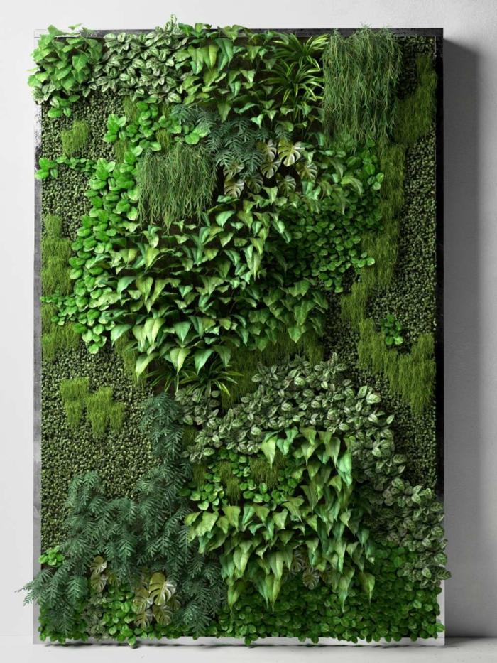geniales ideas sobre como hacer un jardin vertical en casa, jardines verticales vivos, super originales fotos para descargar