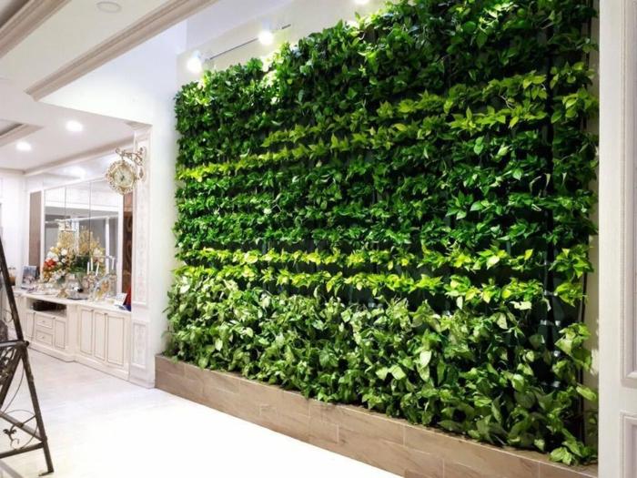 super originales ideas sobre cómo montar un jardín vertical en espacios cerrados, huerto vertical bonito, jardines verticales
