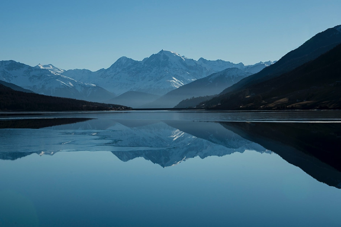 imagenes naturales que inspiran, precioso paisaje con montaña y lago, fotos de imagenes de paisajes naturales para descargar