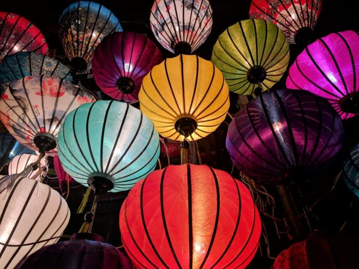 lámparas japonesas de papel, super originales fotos en colores para tu fondo de pantalla, descargar fondos de pantalla