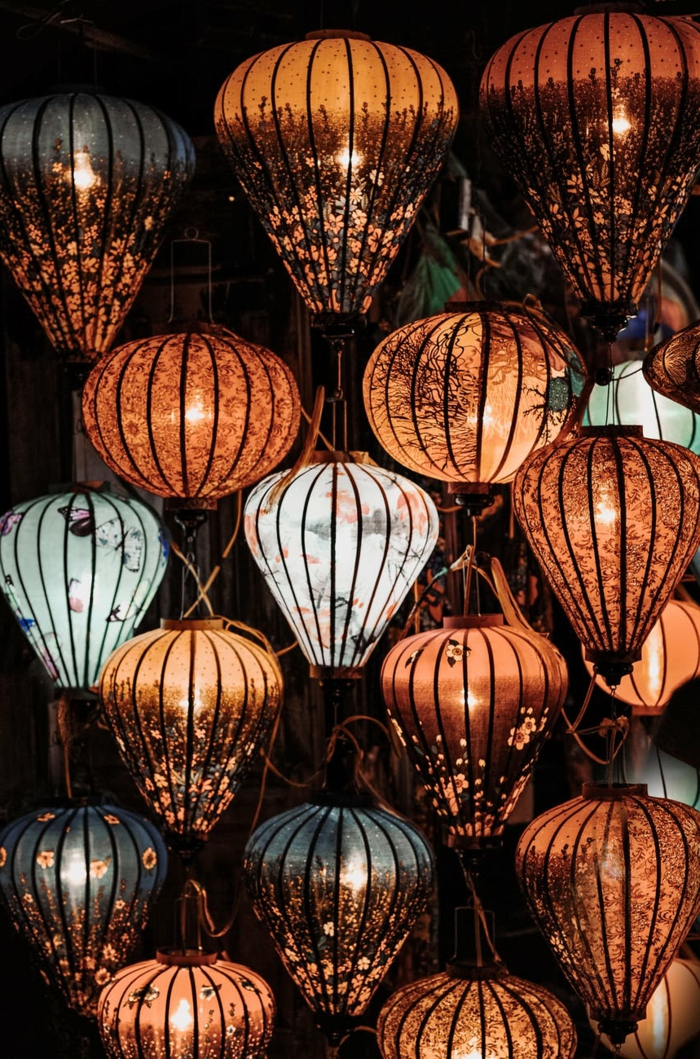 preciosas lámparas de papel con motivos florales, ideas para descargar fondos de pantalla, más de 100 propuestas de fondos de pantalla