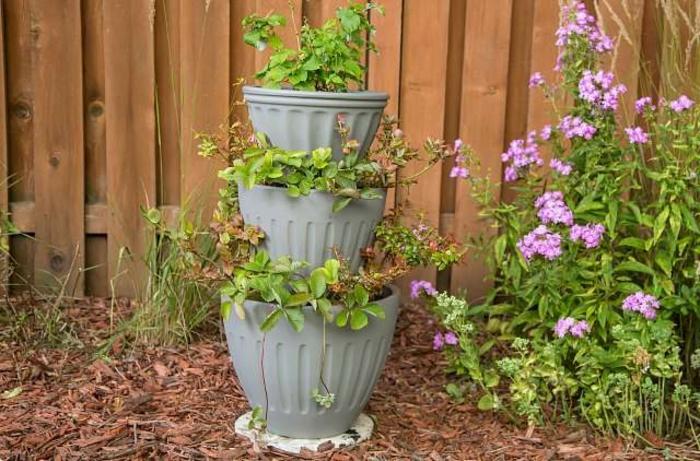 macetas verticales originales, ideas de diseño de jardín y originales propuestas para crear jardines verticales en imagenes