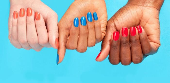 colores en tendencia para uñas en verano, uñas decoradas elegantes, diseños de uñas originales y bonitos