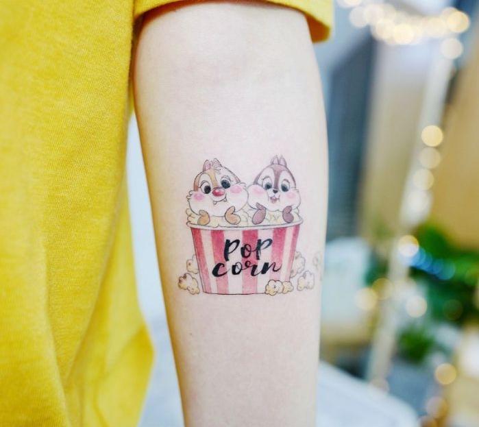 fotos de tatuajes disney bonitos, diseños de tatuajes en el brazo originales, ideas de tattoos, fotos de tatuajes bonitos