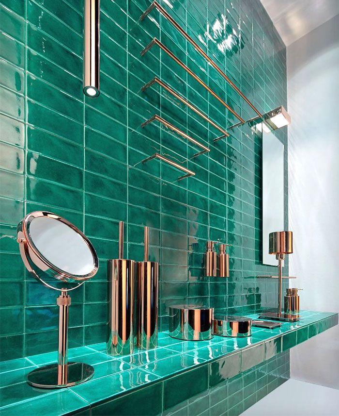 ideas sobre como decorar baños modernos, cuartos de baño en fotos, super originales ideas de azulejos para baño