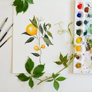 Hermosas ideas de dibujos con acuarelas para inspirarte