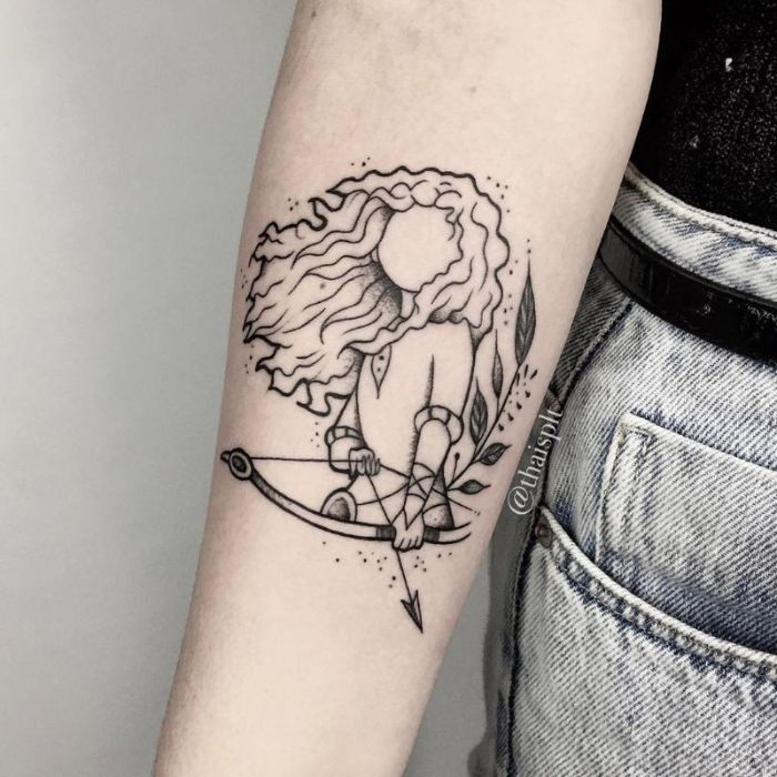 galería de imágenes con los mejores diseños de tatuajes Disney, tatuajes antebrazo originales, diseños de tattos