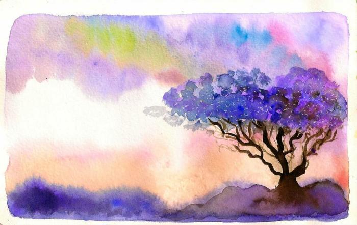 las mejores ideas de pinturas en acuarela para avanzados y principiantes, como dibujar paisajes con acuarela bonitos