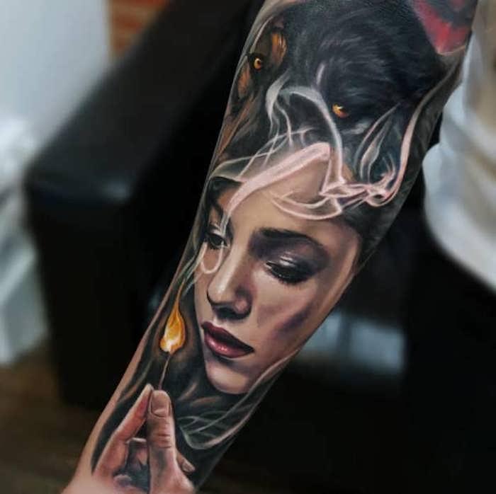 tatuajes antebrazo con grandes dibujos, tatuajes para mujeres, adorables diseños de tatuajes para mujeres en 140 fotos