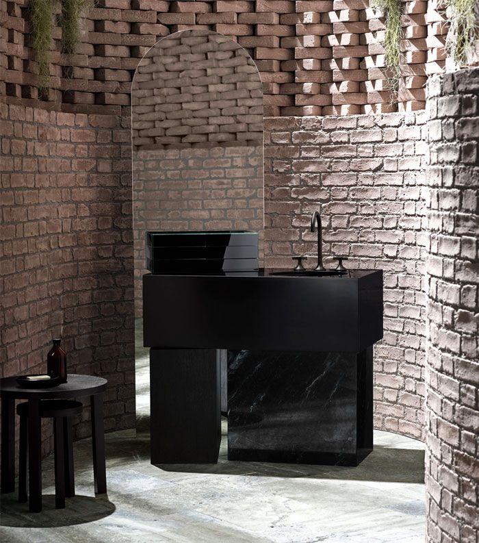 los mejores diseños de baños en estilo contemporáneo, decoración de baño con toque vintage, baños originales estilo moderno