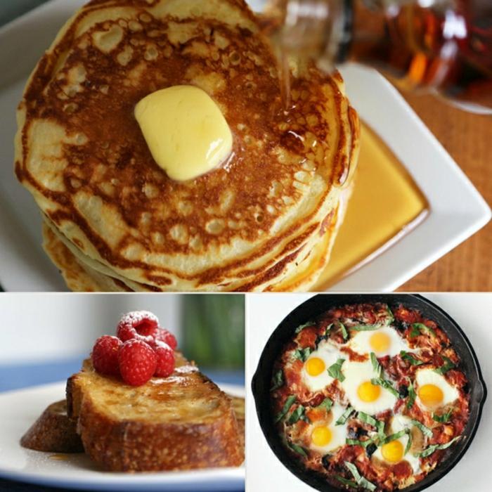 3 propuestas de desayunos ricos, ideas de un almuerzo temprano o desayuno tardio, ideas de comidas en imágenes