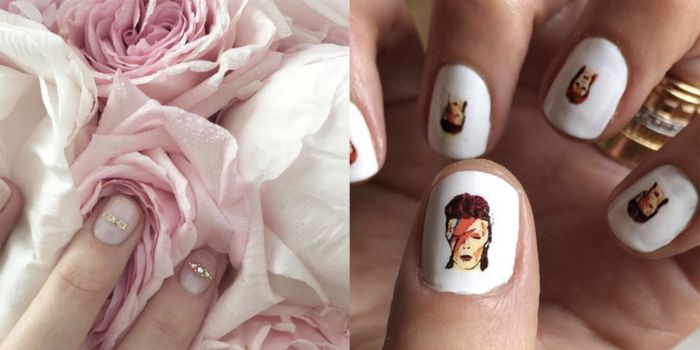 ideas originales de uñas decoradas con dibujos bonitos, super originales ideas para tu manicura, fotos de uñas decoradas 2019