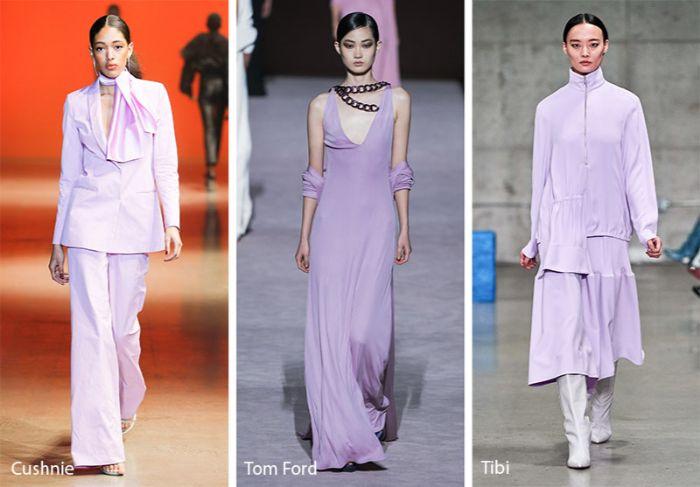 colores suaves y claros de la paleta pastel, tendencias invierno 2019, trajes y vestidos modernos otoño invierno 2019