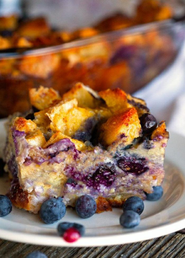 postres ricos con frutas para el verano, recetas de verano faciles rapidas y baratas, ideas de pasteles con arándanos