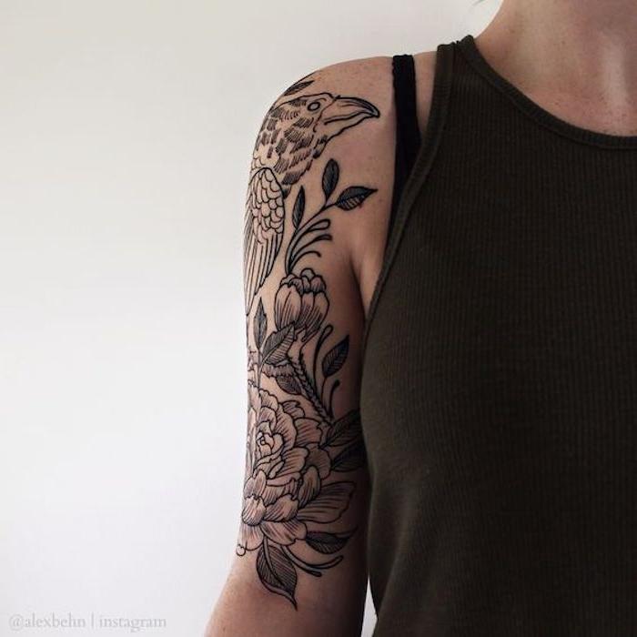 diseños de tatuajes simbólicos en el brazo, tatuajes para mujer en la espalda y en el brazo, galeria de tatuajes originales