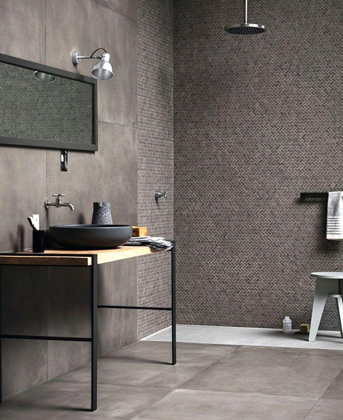 baños pequeños con ducha, cuarto de baño pequeño decorado en gris y beige, decoración de baños según las últimas tendencias