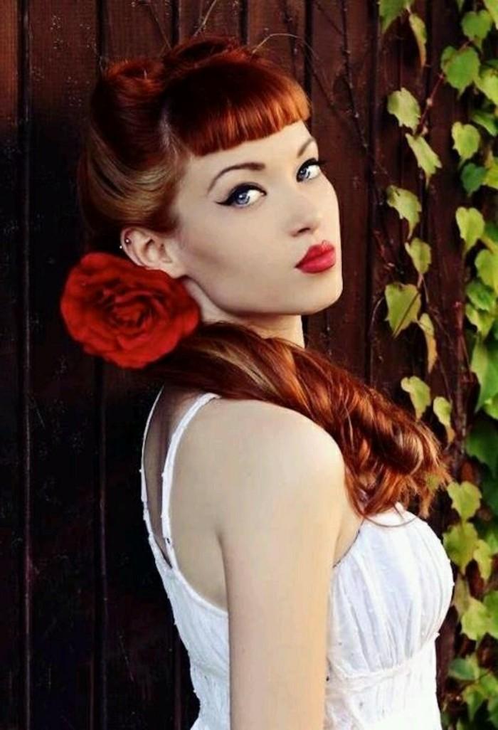 coletas y peinados pin up en fotos, cuál es el maquillaje pin up clásico, 150 fotos de chicas en estilo vintage para descargar