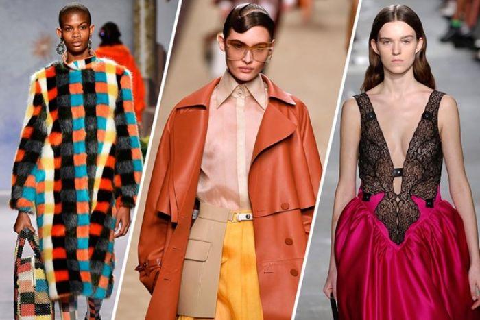 las mejores tendencias otoño invierno 2019 2020, colores, tejidos y estampados modernos, moda invierno 2019 mujer