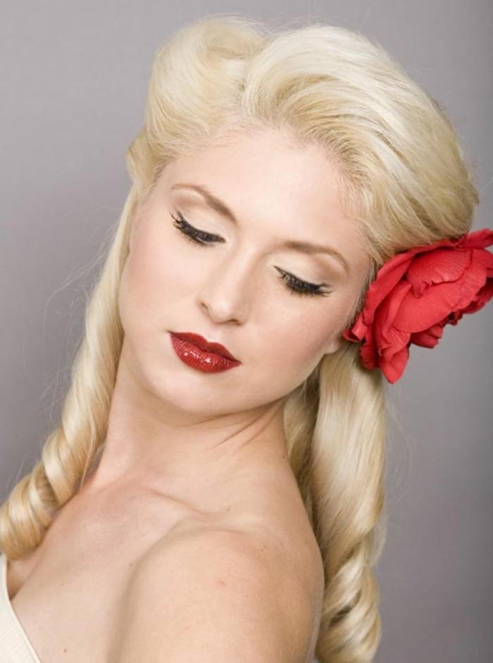 elegantes propuestas de peinados grease mujer para una ocasión especial, penados coctel con mucho volumen fotos