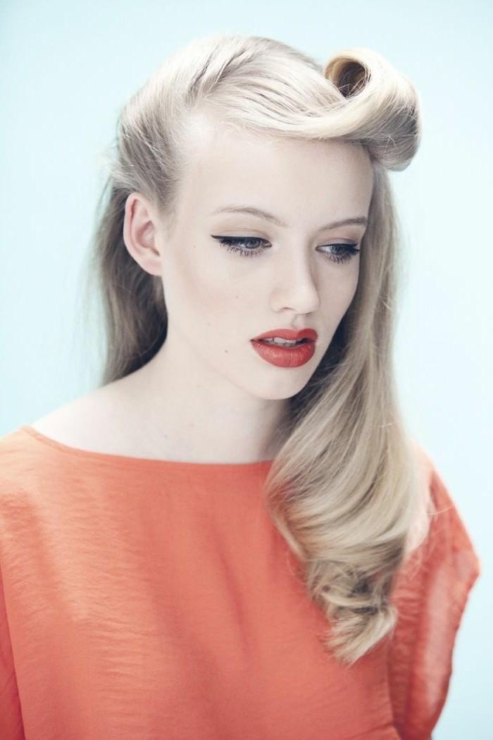 las mejores ideas de peinados grease para chicas, más de 150 fotos de peinados pelo suelto y recogidos elegantes