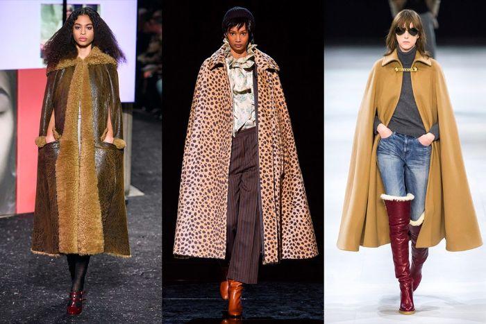 abrigos modernos para la temporada otoño invierno 2019 2020, tendencias otoño 2019, colores terrestres para el otoño y print animal