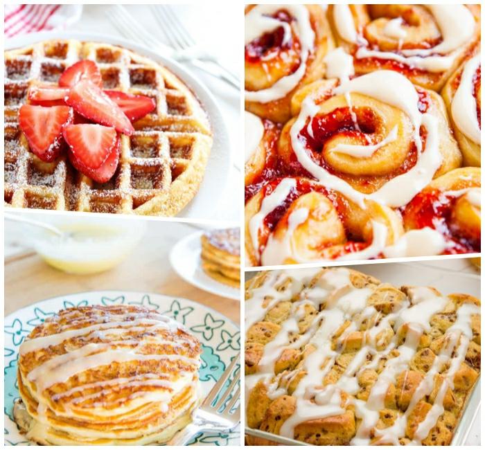 comidas dulces para desayuno y frutas, recetas rapidas, crepes esponjosos, crepes y gofres clásicos, recetas de dulces originales