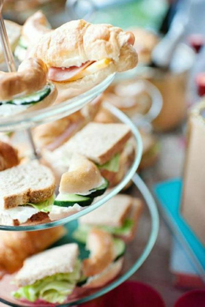 bocadillos y croisssants rellenos, ideas de recetas rapidas para un desayuno sencillo y rico, propuestas brunch en 173 fotos