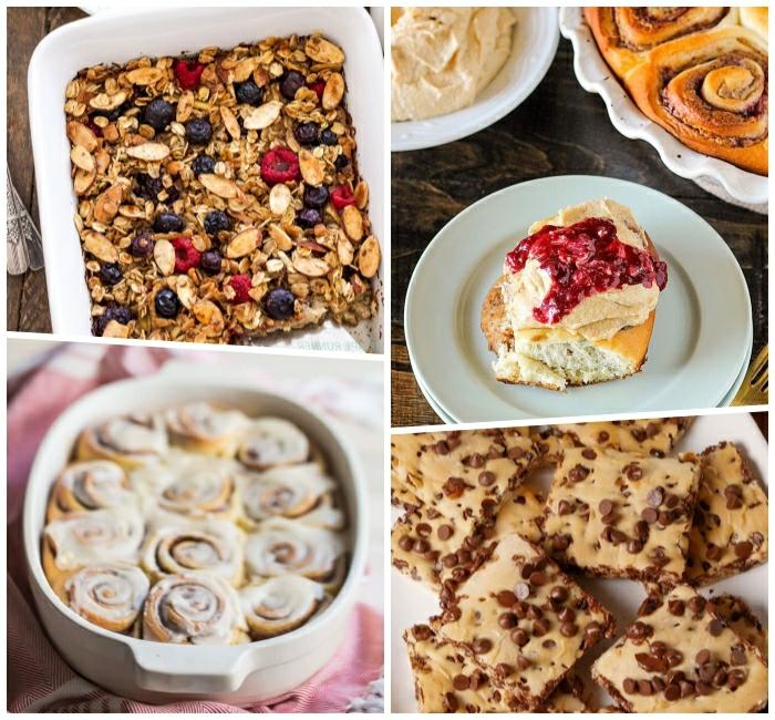 cuatro ideas de desayunos dulces para empezar bien el dia, recetas rapidas y fáciles con cereales, desayunos dieta equilibrada