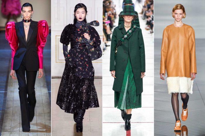 super ideas de outfit otoño, como elevar tu apariencia al maximo esta temporada, diseños con hombros exagerados