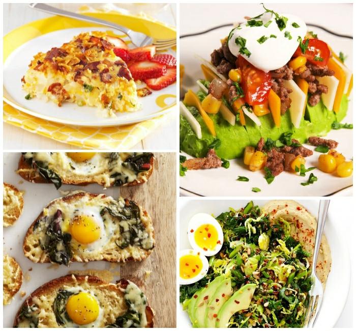 cuáles son las recetas más recetas rapidas para un desayuno taardio, cuatro apetitosas propuestas de desayunos