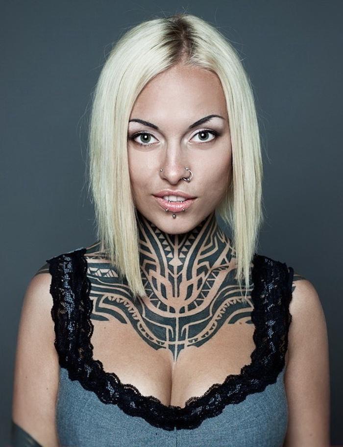 diseños de tatuajes maories para mujeres, tatuajes pequeños para mujer, originales ideas de tatuajes para damas en fotos