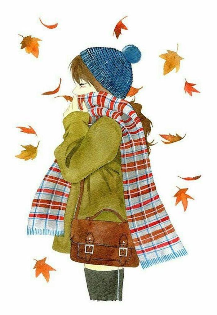 dibujos de otoño para redibujar, más de 75 propuestas de dibujos para dibujar, ideas sobre como dibujar personas
