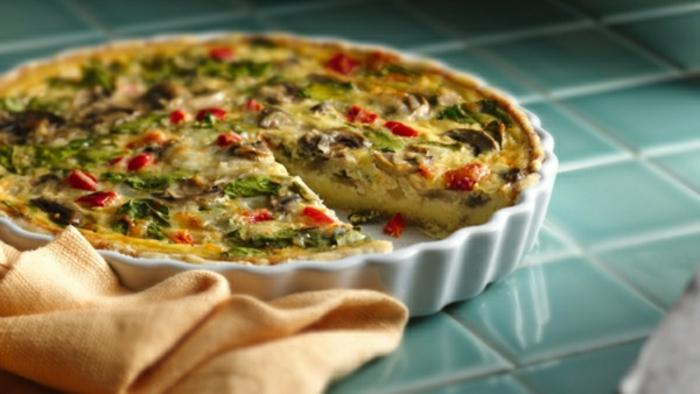 tortillas con setas, pimiento rojo y espinacas, desayunos nutritivos que te llenaran, recetas faciles y rapidas para comer