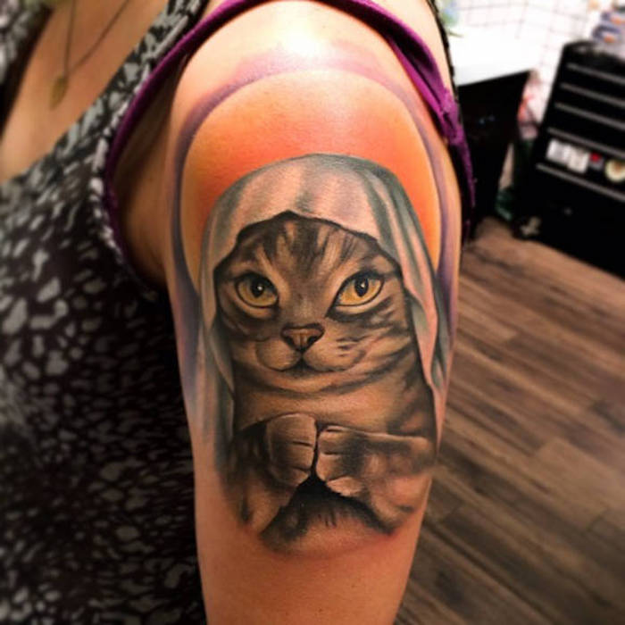 ideas de diseños de tatuajes, tatuajes originales para mujeres, tatuajes de gatos bonitos, más de 150 fotos de tatuajes