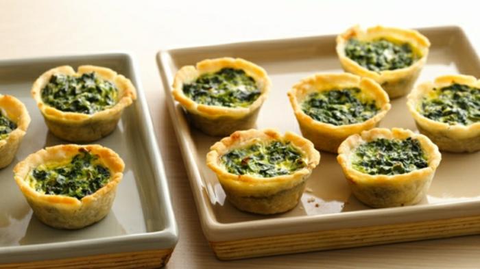 mini magdalenas con huevos y espinacas, recetas faciles y rapidos, que comer hoy para empezar el día con energía